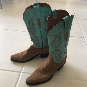 LUCCHESE 1883 WOMAN COWBOY BOOT sz 7
